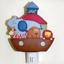 Kidsline TWO BY TWO Night Light Noah's Ark Baby Nursery Decor