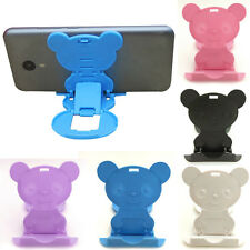 Universal Phone Desk Portable Foldable Panda Stand Holder For iPhone Samsung