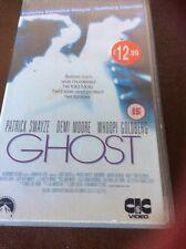 GHOST   PATRICK SWAYZE  DEMI MOORE  WHOOPI GOLDBERG  ( 1990 UK VHS PAL VIDEO )