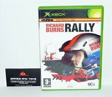 JEU XBOX COMPLET RICHARD BURNS RALLY REF 42