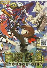 DVD Kyousougiga ( Eps. 1 - 13 End ) English SUB + Free Shipping (A09)