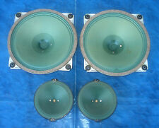 Saba 20cm FULLRANGE & 10cm tweeter Blue greencone Dew Alnico Speaker Set