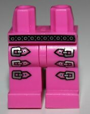 LeGo Dark Pink Hips and Legs with Silver Belt and Triple Leg Buckles Pattern