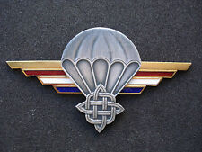 Croatia army, Sepurine Special forces, numbered, golden Paratrooper wings, rare