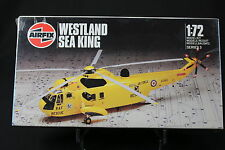 XK143 AIRFIX 1/72 maquette helicoptere WESTLAND SEA KING Ref 03043 serie 3 1986