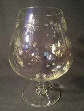 Very Large Cut Crystal Glass Vase/Bowl/Glass (ref W136)