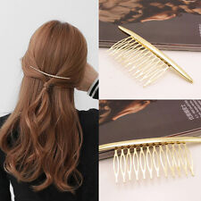 Baroque Style Gold Metal Moon Hair Clip Hair Comb Hair Barrettes Accessories NEW