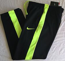 NIKE THERMA-FIT STAY WARM KO 3.0 TRAINING PANTS Mens Medium M black/volt NWT $55