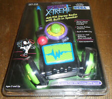 AM/FM Radio Promo For UNRELEASED Sega Saturn Game SONIC X-TREME! NEW! Hedgehog