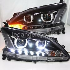 2012 to 2015 Year For NISSAN Sylphy B17 Sentra LED Headlights U Style Lamps TLZ