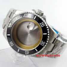 43mm sapphire glass sub Watch Case fit ETA 2824 2836 MOVEMENT C54