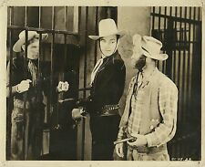 "BUSTER CRABBE & AL ""Fuzzy"" St. JOHN in ""Billy the Kid 'Western Cyclone'"" 1943"