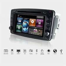 Dynavin 2-din Navi multimedia dispositivo USB DVD Bluetooth BT mercedes c w203 CLK w209