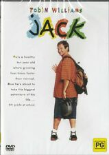 JACK - ROBIN WILLIAMS - NEW & SEALED REGION 4 DVD FREE LOCAL POST
