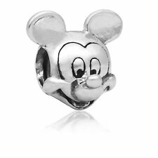 Mickey Mouse European Charms Bead Fit Silver Pendant Bracelet&Necklace Chain