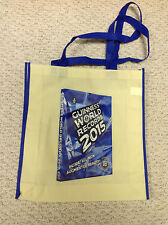"Guiness World Records  2015  Canvas Tote Bag  14"" x 15"""