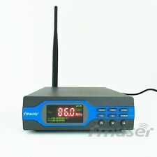 FMUSER FU-X01BK 1W FM Transmitter MP3+Bluetooth+Battery Power+Antenna Package