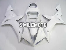 Fairing Glossy White Injection ABS Plastic Kit Fit for Yamaha YZF R1 2002 2003