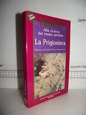 LIBRO Alla ricerca del tempo perduto PROUST La Prigioniera 1^ed.1990