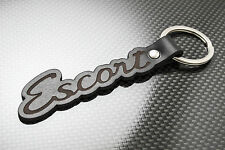 ESCORT MK1 Luxury Leather Keyring Schlüsselring Porte-clés FORD RALLY RS MEXICO