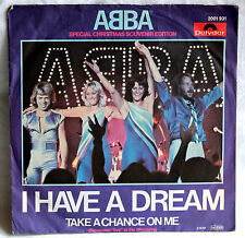 "7"" Vinyl ABBA Special Christmas Souvenir Edition - I have a dream"