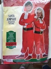 Jump Suit Santa Costume and/or Pajama