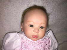 "Heirloom Realistic Reborn Baby CAITLIN by Laura Tuzio Ross ""Kylin"" Scupt Doll"