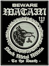 Watain Beware-EMBROIDERED patch/BRODE patchs - 11,5 x 8,5 CM - 162001