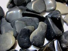 Black Cloudy Agate Tumbled Stone 50mm QTY1 Healing Crystal Dreamwork Eyesight