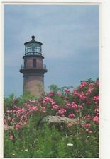 Gay Head Lighthouse Marthas Vineyard Old  Postcard USA 402a ^