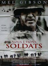 NOUS ETIONS SOLDATS Affiche Cinéma / Movie Poster MEL GIBSON 160x120