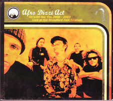 RARE Afro Dizzi Act Go With The 'Fro Live At Woodford Folk Festival CD
