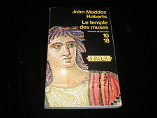 10/18 John Maddox Roberts : Le temple des muses
