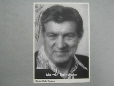 """MARVIN  RAINWATER  """"Gonna Find me a Bluebird"""" Signed 4 X 6  B & W Photo/Postcard"""