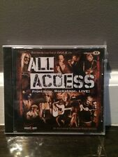 ALL ACCESS FRONT ROW Backstage Live Verizon Promo NEW SEALED Sheryl Crow + BONUS