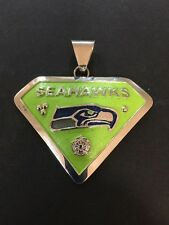 Native American Navajo Men's Pendant Seattle Seahawks  Awesome And Stunning #3