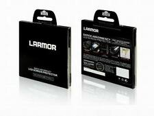 LARMOR GGS Self-Adhesive Optical Glass LCD Screen Protector for Canon 70D 80D
