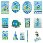 1st Birthday Blue Boy Party Tableware and Decorations Plates Napkins all here