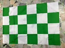 1 bandiera scacchi biancoverde neutra AVELLINO celtic monopoli 140x100cm Flag