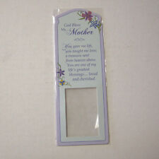 """Mother Bookmark With Magnifier By Heatfelt Collection(c), Blue, 7"""" x 2.5"""", New"""