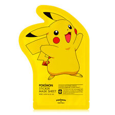 [TONYMOLY] Pokemon Sticker Mask Sheet (Pokemon Edition) Korea Cosmetics New