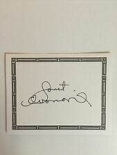 Janet Evanovich, Author Signed Bookplate