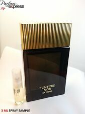 TOM FORD NOIR EXTREME EAU DE PARFUM Per Lui 3 ML spray in vetro CAMPIONE