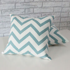 Wave Linen Ripple Chevron Zig Cotton Cushion Cover Home Decor Throw Pillow Case