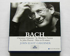 GARDINER/BACH Sacred vocal works EUROPE 9xCD box set ARCHIV 469 769-2(2004)MINT