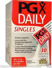 NEW NATURAL FACTORS PGX DAILY SINGLES UNFLAVORED GRANULES SUPPLEMENT 30 STICKES