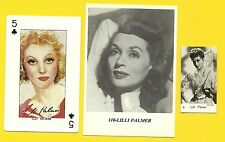 Lilli Palmer Fab Card Collection Author Change Lobsters and Dance Film Actress