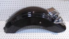 Harley Davidson OEM 09-13 FLHTC Touring Rear Fender Vivid Black w/ LED light
