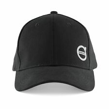 Mens Volvo Black Baseball Cap with iron Mark, New & Official Volvo BNWT One Size