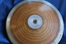 Antique 2K Wood & Steel 4.6 Pound Discus Track & Field